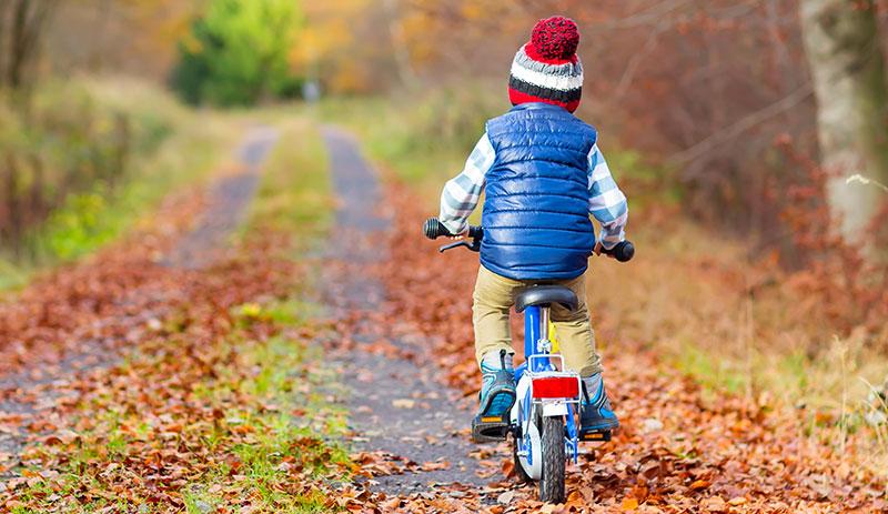 Balanscyklar bättre än barncyklar med stödhjul